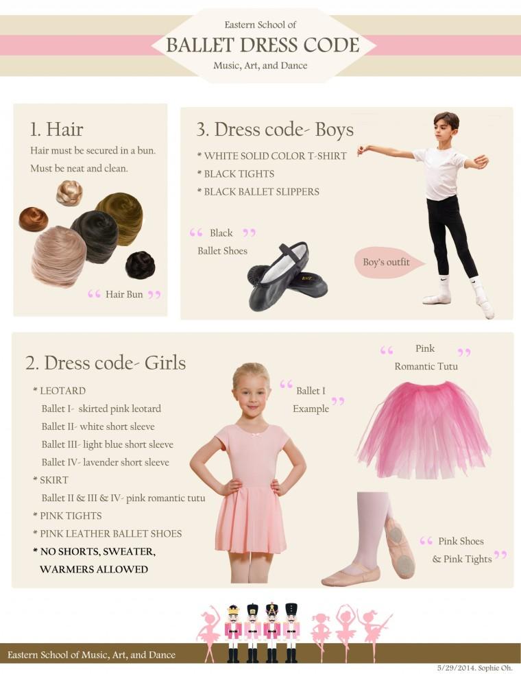 ballet dress code